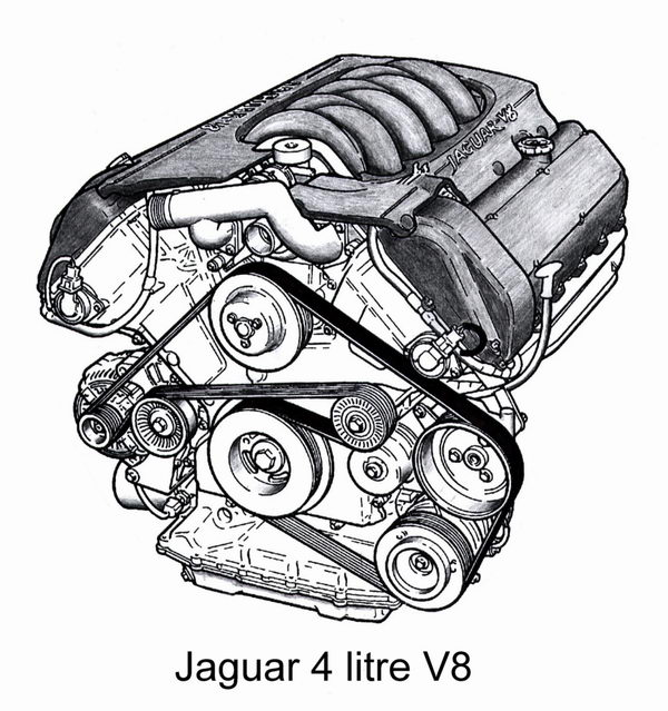 the jaguar aj v8 engine aj6 engineering