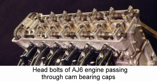 THE JAGUAR AJ6 ENGINE - 3.2, 3.6, AND 4.0 LITRE / AJ6 Engineering