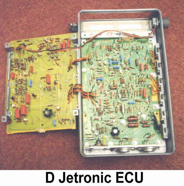 Djetronic on jaguar diagram