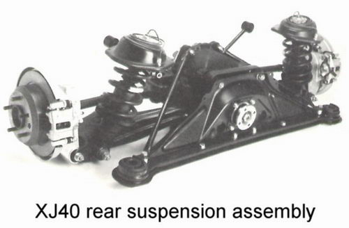 suspension and brakes aj6 engineering rh jagweb com jaguar xj6 front suspension diagram jaguar xj8 air suspension diagram