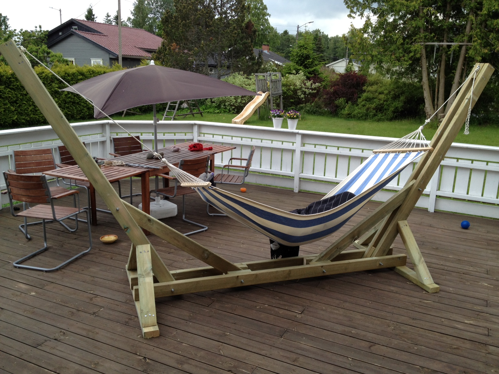 Woodworking wooden hammock stand diy PDF Free Download